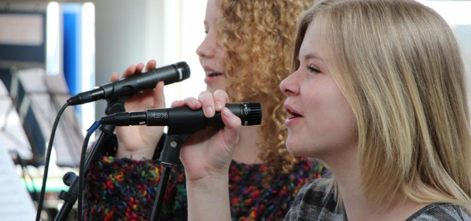 2 af musikskolens sangelever